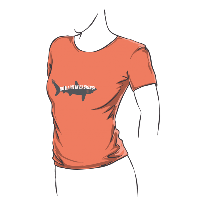 Fitted Basking Shark T-Shirt