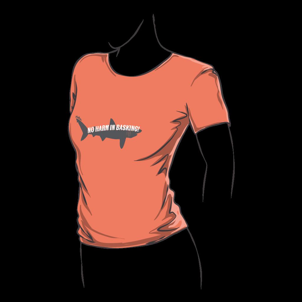 Fitted Basking Shark T-Shirt