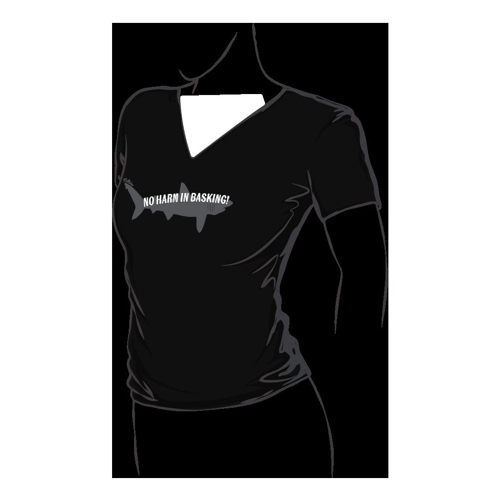 Basking Shark Fitted T-Shirt