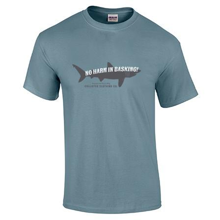 Basking Shark Stone Blue T