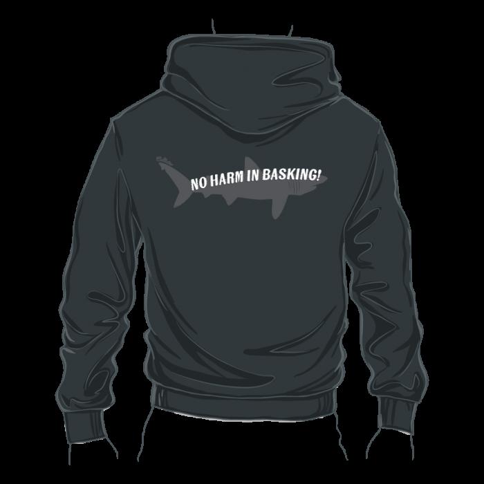 Basking Shark Zipped Hoodie