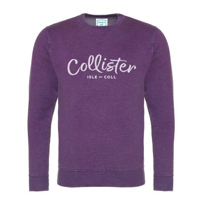 Collister Sweatshirt - Island Purple