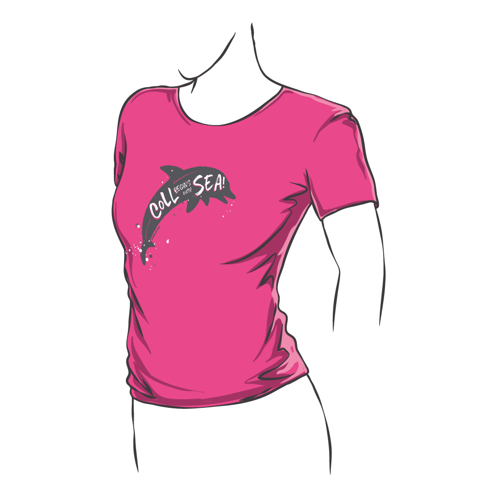 Dolphin Fitted Tee