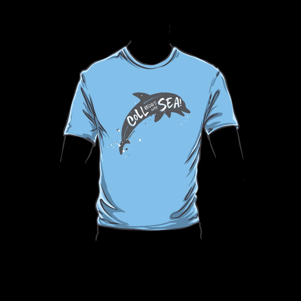 Coll Dolphin Kids T-Shirt