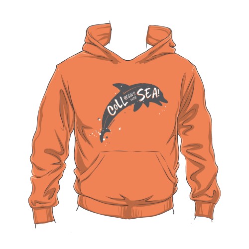 Kids Coll Dolphin Hoodie