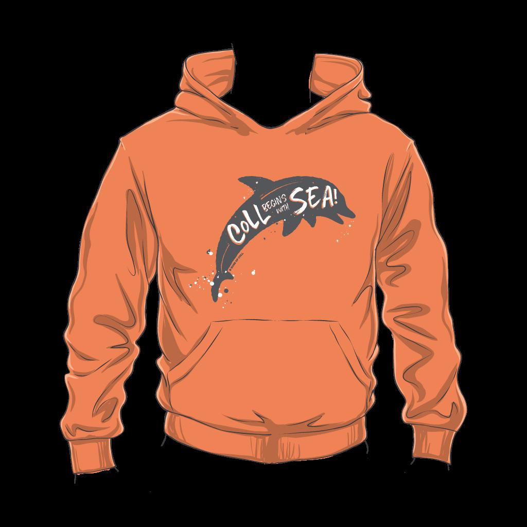 Kids Coll Dolphin Hoodie