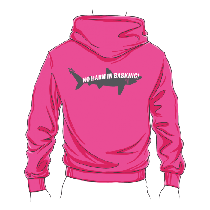 Fitted Basking Shark Zipped Hoodie
