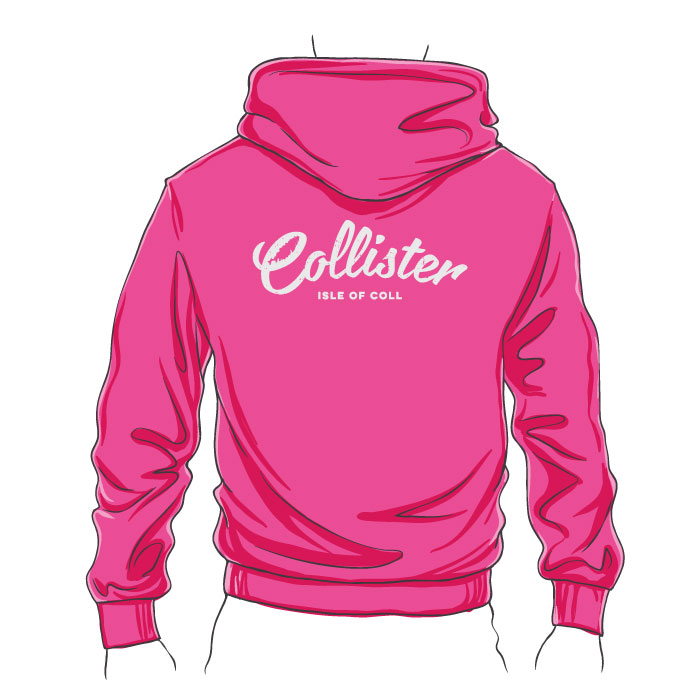Collister Fitted Zipped Hoodie