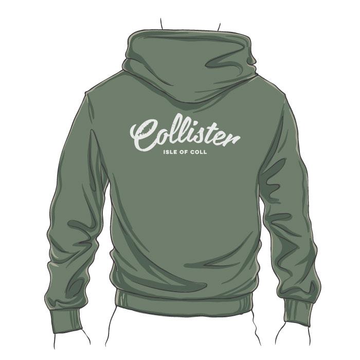 Collister Zipped Hoodie