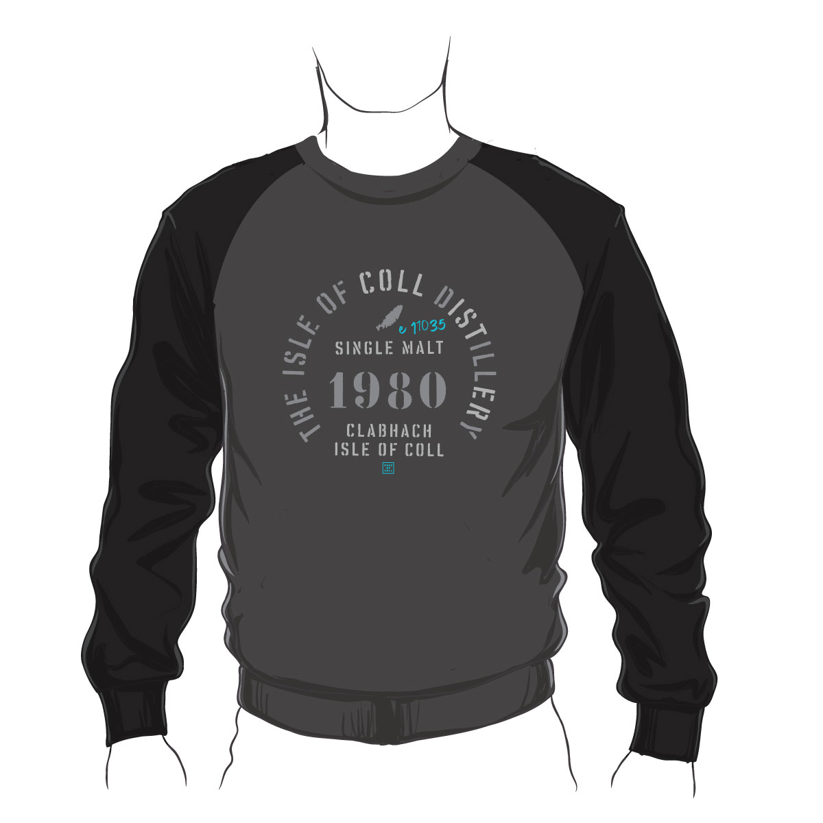 Isle of Coll Distillery Sweatshirt