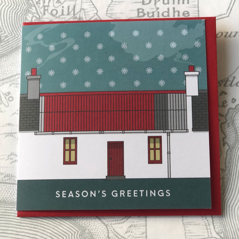 Isle of Coll Christmas Card