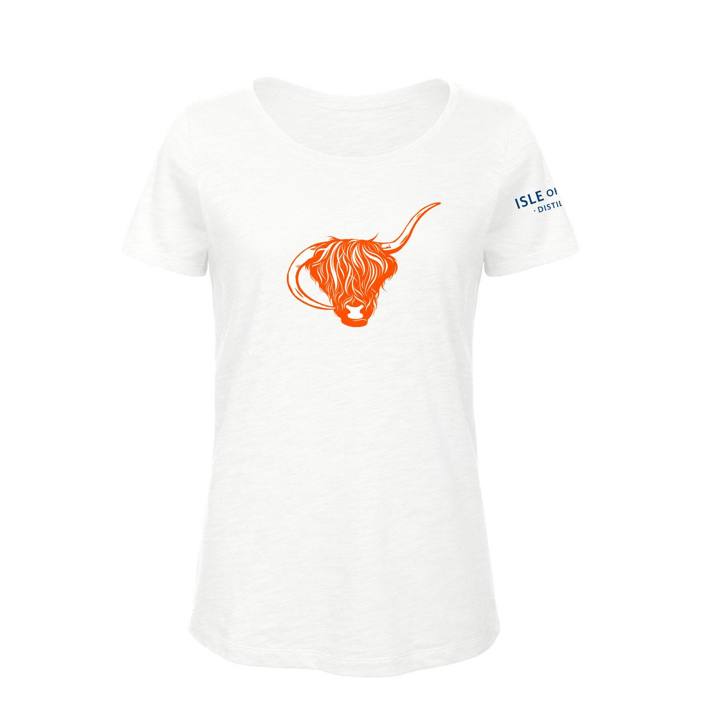 White Organic Women's Coll Distillery T-Shirt
